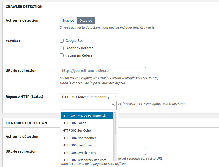 Page Metabox Selection Http Redirection