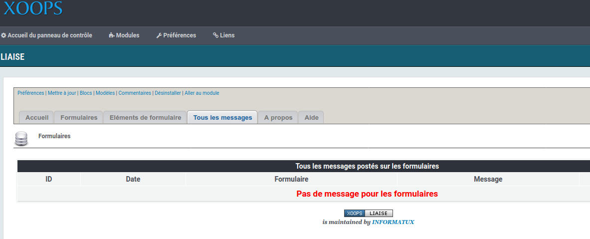 Liaise Email Base De Donnees