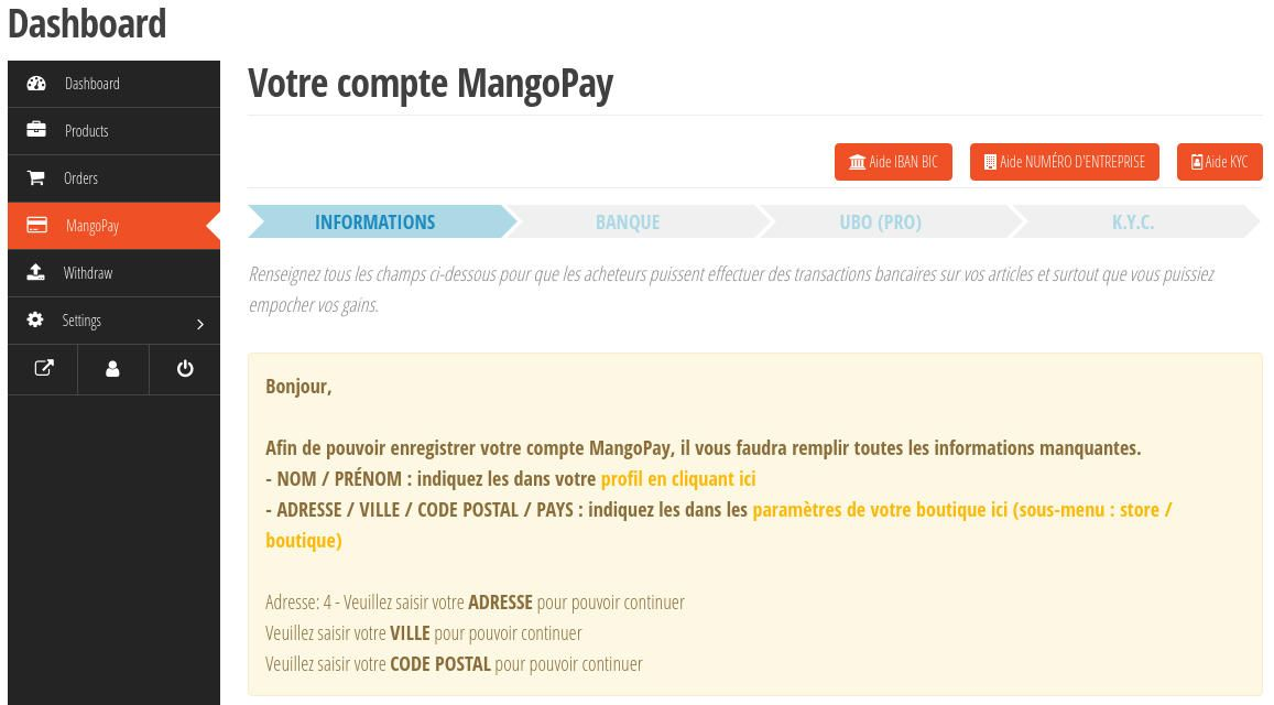 Wcgatewaymp Vendor Mangopay Step1 Required Informations 950